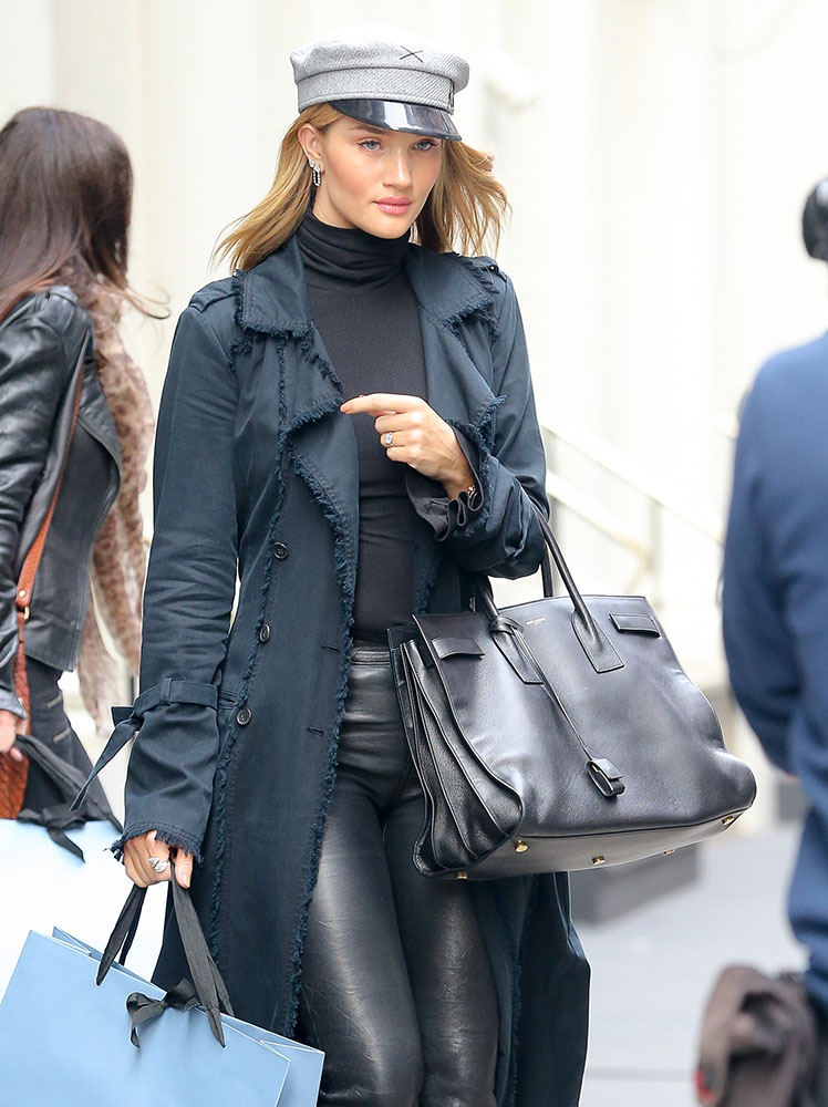 Rosie Huntington Whiteley And Her Handbags Are Back On The