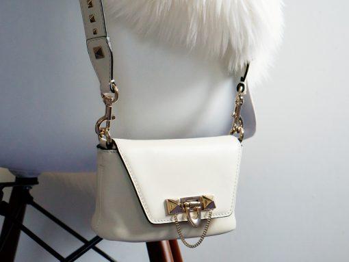 Loving Lately: The Valentino Demilune in Winter White