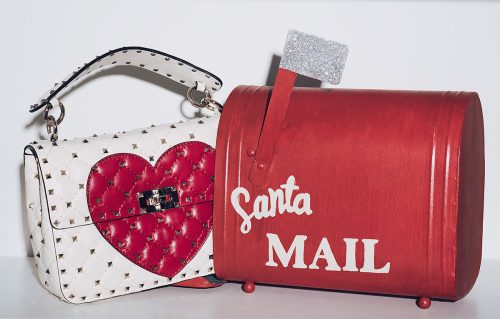 Valentino Spike Heart Bag
