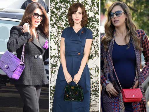 This Week, Celebrities Fled Los Angeles Post-Golden Globes with a Ton of Chanel Bags