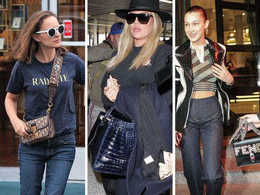 Celebs Sail Through Life with Bags From Dior, The Row and Coach