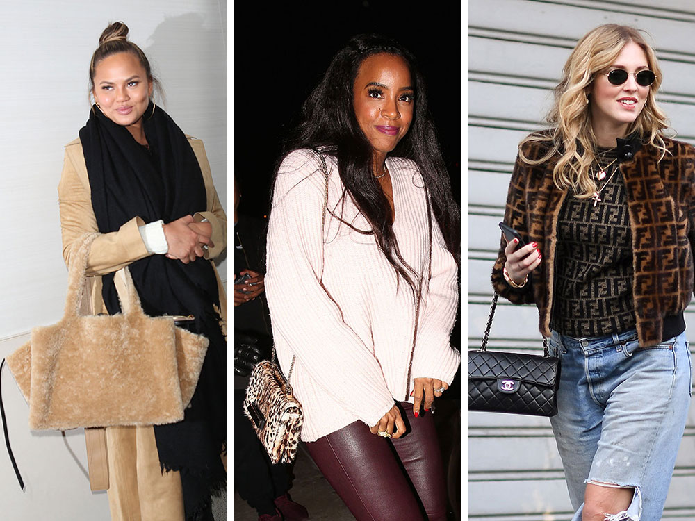 2f8b3322b7fe This Week, Celebs Attended Protests and Press with Bags from Chanel, Céline  and Senreve