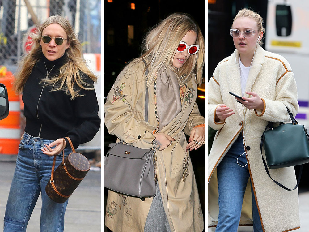Prada And Céline Are The Obvious Celebrity Bag Faves This Week Purseblog