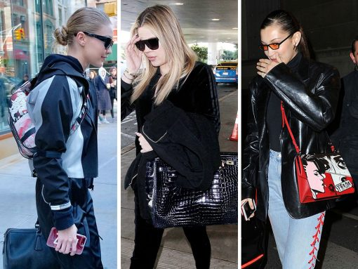The Hadids Present a Unified Front with New Spring 2018 Bags from Prada