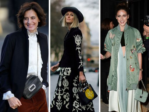 The Many Bags of Paris Haute Couture Week Spring 2018's Celebrity Attendees