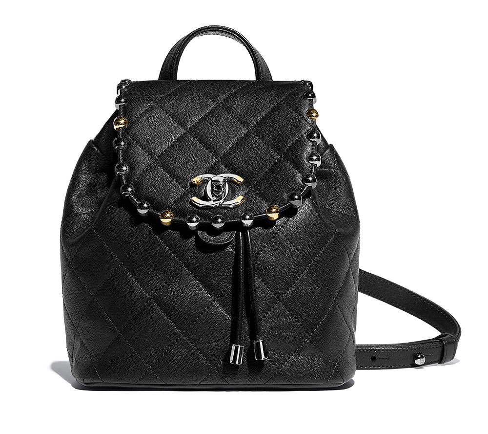 Chanel Backpack Black 4200