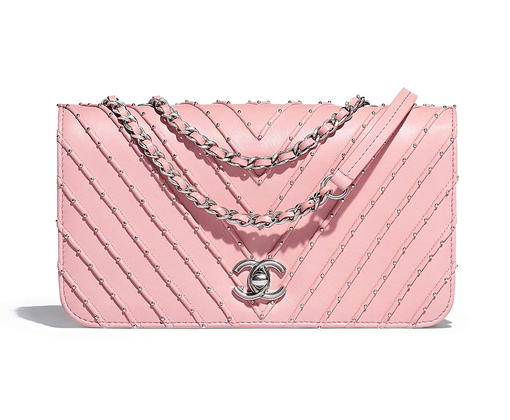 Buy Chanel Pink purses picture trends