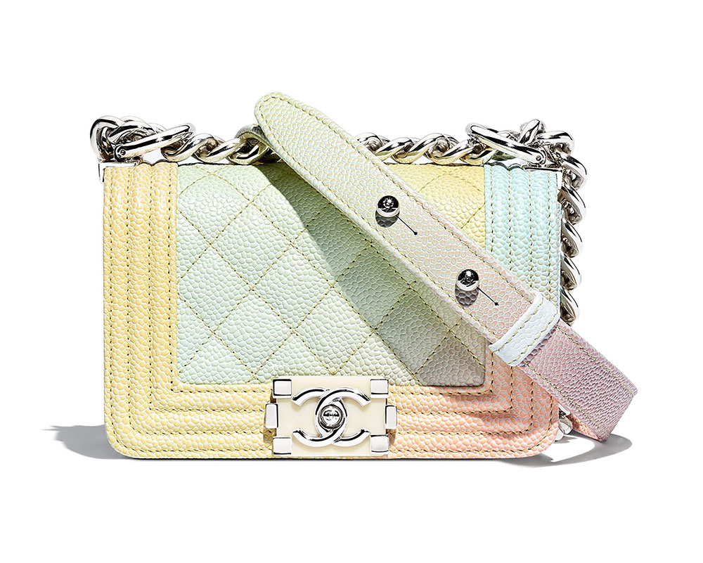 f154b6cb8dd9 Rainbow Chanel Boy Bags are Back for Pre-Collection Spring 2018 ...