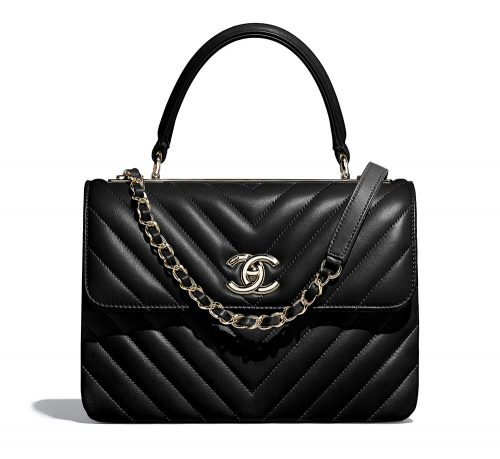 b1996ebedf1f Chanel-Small-Flap-Bag-with-Top-Handle-Black-5600 - PurseBlog