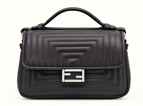 Fendi Double Micro Baguette Black