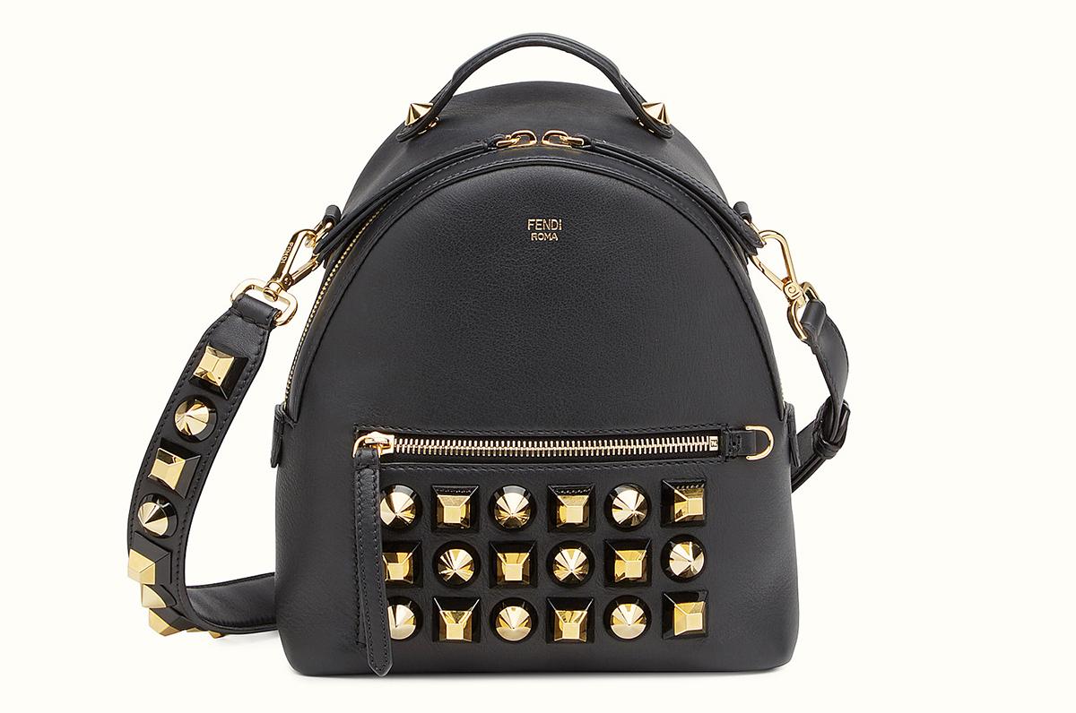 Fendi Gold Edition Mini Backpack