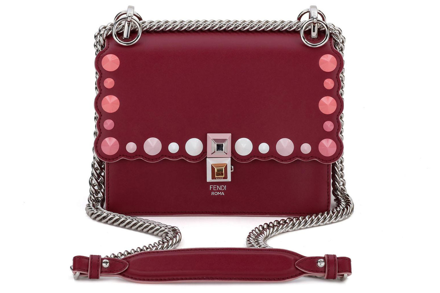 Fendi Mini Kan I Red