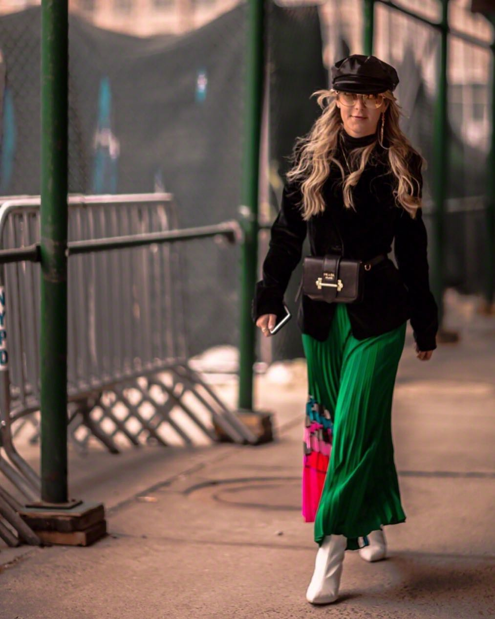 56d52473ef50 The Best Instagram Bag Looks From #NYFW's Street Style Stars - PurseBlog