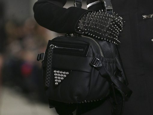 Alexander Wang Debuts Cross-Body Fanny Packs and Prada-esque Nylon Bags for Fall 2018