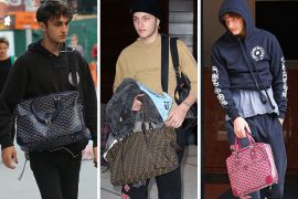 Like Sisters, Like Brother: Check in on Anwar Hadid's Small but Rapidly Developing Bag Collection