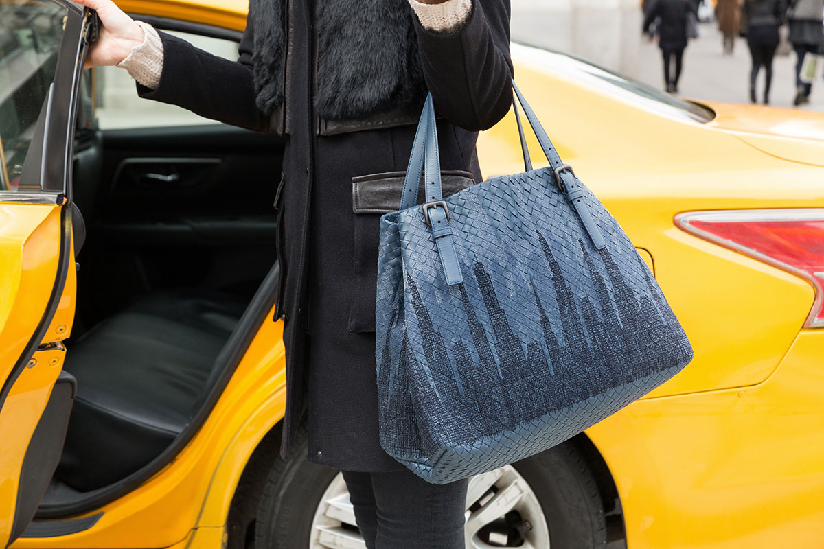 952f86ba57e6 A New York Minute with the New Bottega Veneta Icons of New York Collection