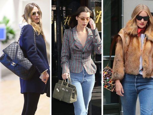 e8cba900868445 Celebs Tempt Us with Colorful Bags from Fendi, Bulgari and Frame