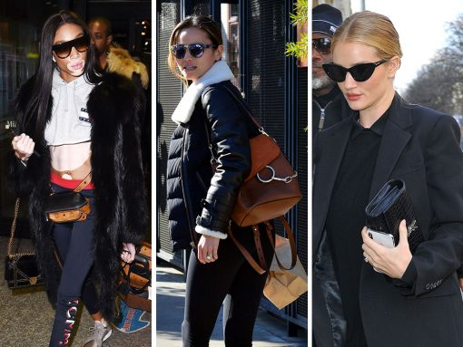 Models In, Models Out: Milan, Paris and NYC Compete for the Best Celebrity Bags This Week