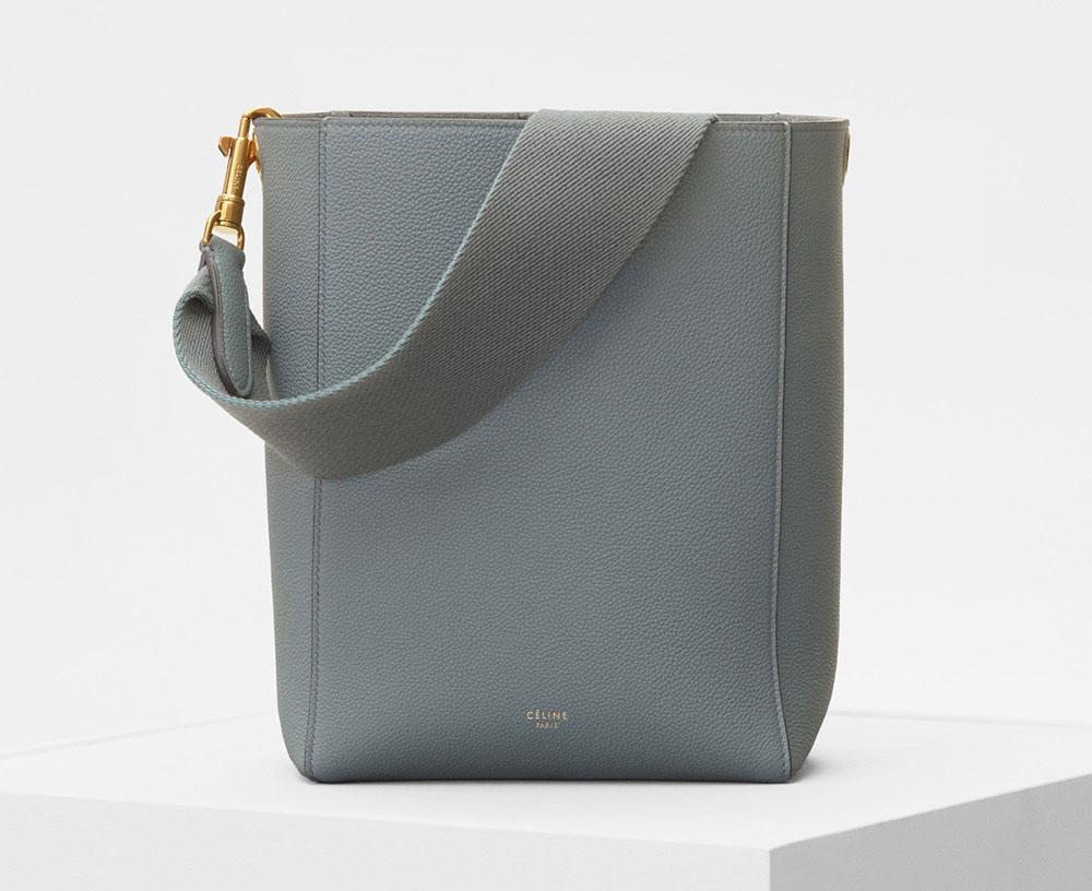 ca9172079 Celine-Small-Sangle-Bucket-Bag-Gray-2000 - PurseBlog