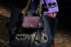 Coach's Fall 2018 Bags Reflect the Season's Moody, Dark Accessories Trends So Far