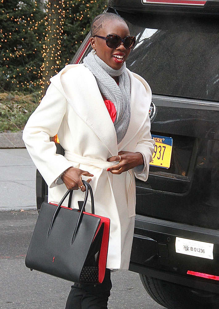 33196116ec6 Celebs Show Off New Purchases from Off-White, Christian Louboutin ...