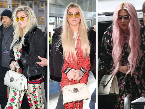 Just Can't Get Enough: Kesha and Her Gucci Frame Bag