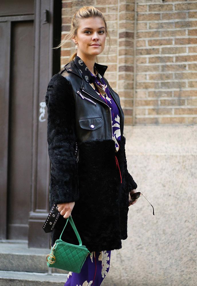 shoulder bag Belt bag Nina Rock model