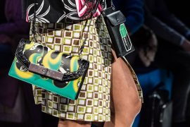 Get Your First Look at the Bags from Prada's Pre-Fall 2018 Collection, Straight from the Runway