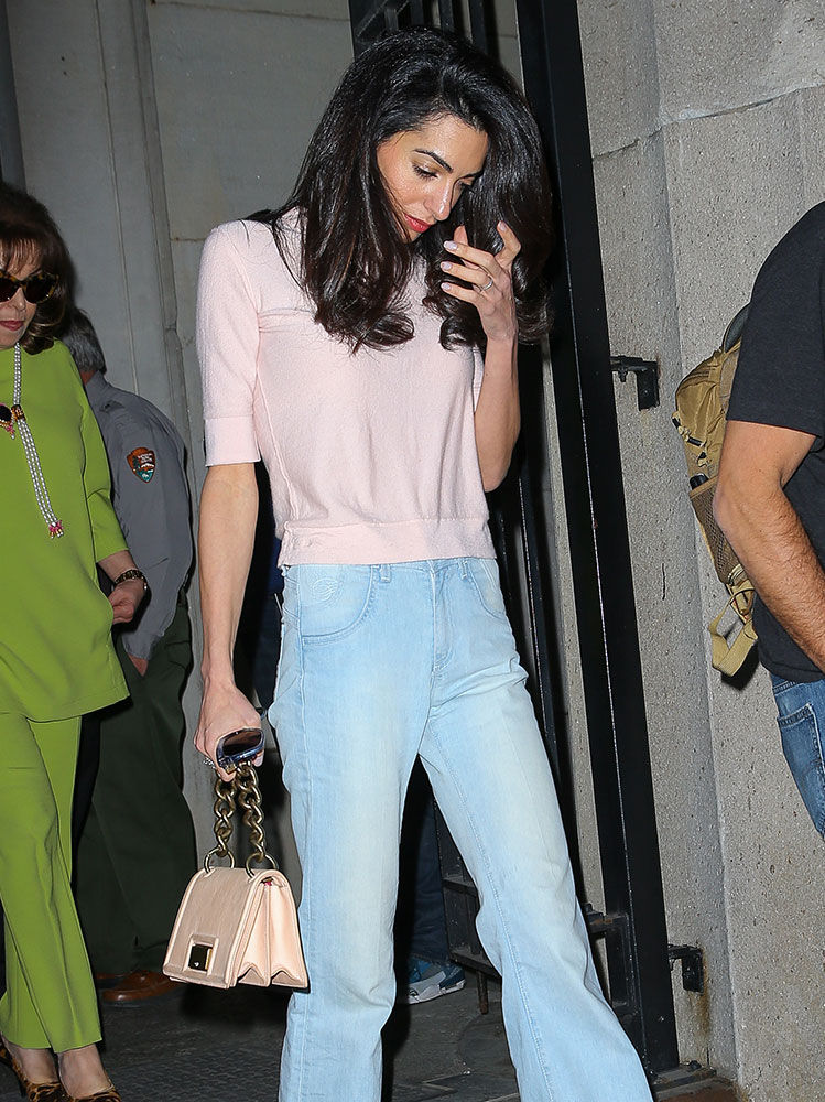 e911507a29d4 Take an Office Style Lesson from Amal Clooney and Her Handbags ...