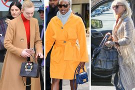 Lately, Paris Fashion Week and Pre-Oscars Parties Provide the Celebrity Bag Goods