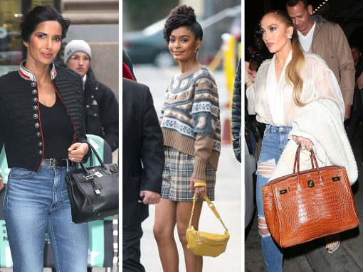 This Weeks, Celebs Were On Set and Out to Lunch with Bags from Hermès, Chanel and Gucci