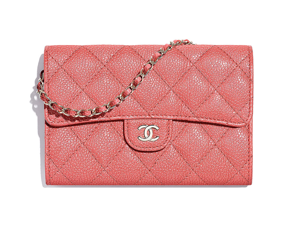 24061e3a31d7 Chanel-Classic-Clutch-with-Chain-Pink-1750 - PurseBlog