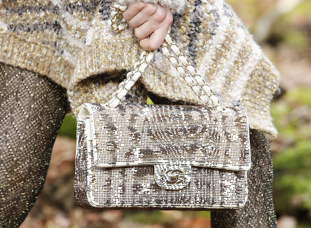 bffebe2064a0 Chanel's Fall 2018 Collection Takes to the Woods and Puts Heavy Emphasis on  a Brand New Bag Style