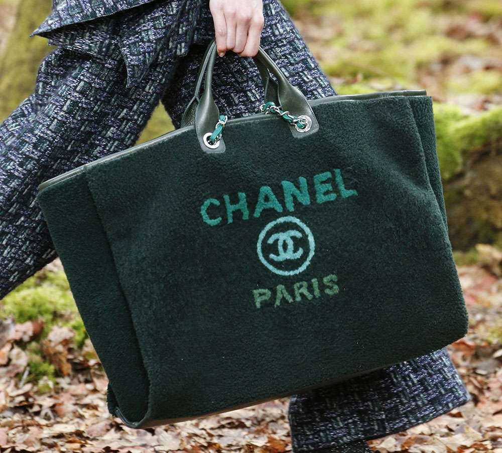 986c2a508976 Chanel's Fall 2018 Collection Takes to the Woods and Puts Heavy ...