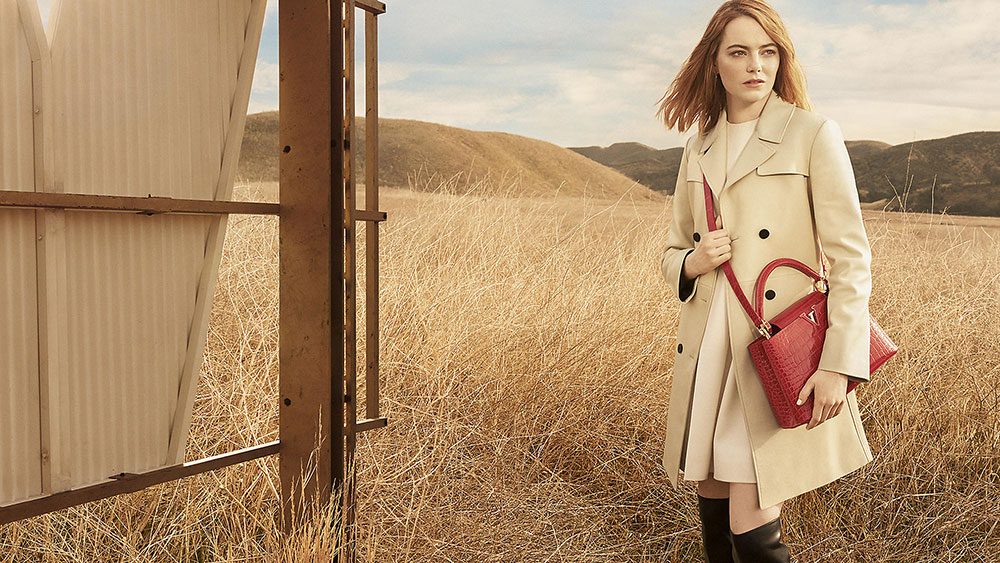 Emma Stone And The Capucines Bag Are Louis Vuitton S New