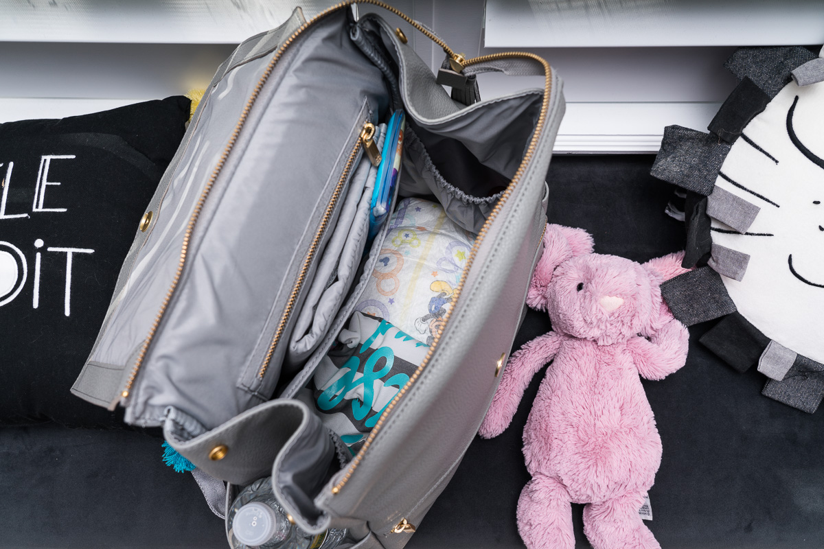 Review Of My Freshly Picked Diaper Bag And The Baby Shoes
