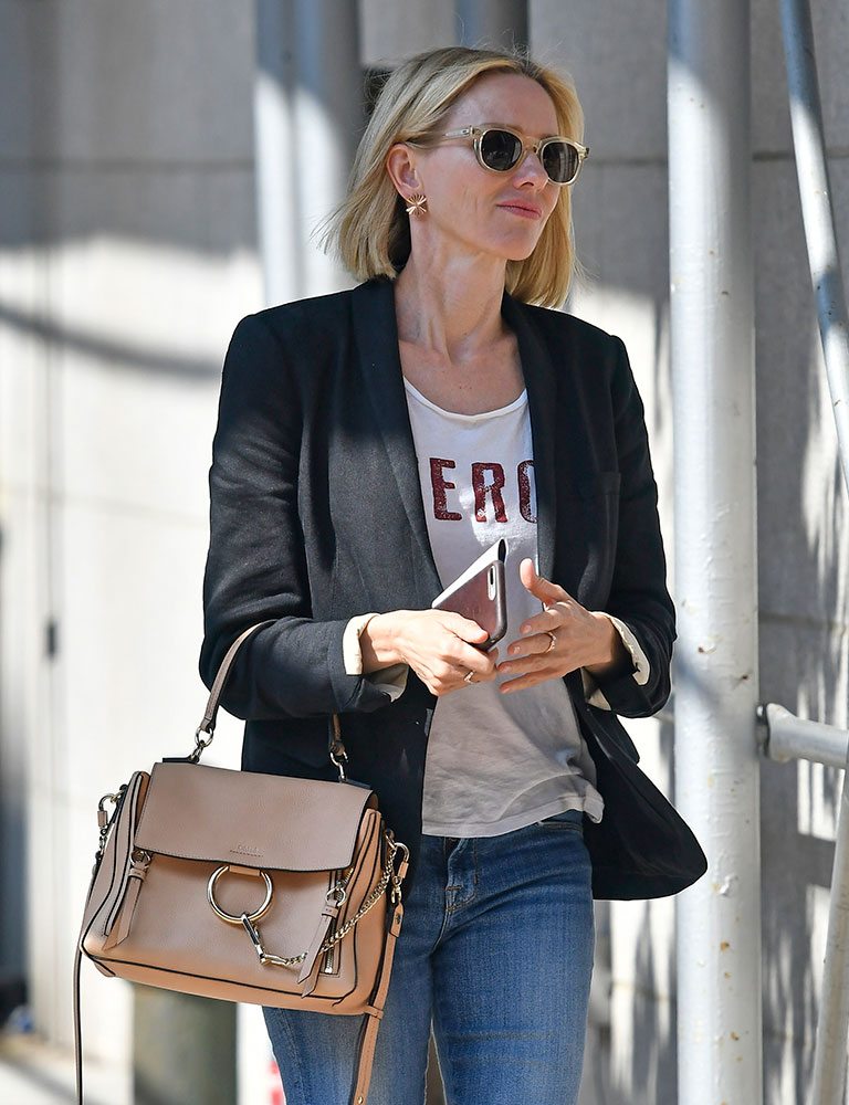At Work and at Play, Naomi Watts Likes Her Designer Bags ...
