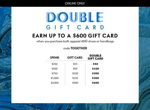 Neiman Marcus Double Gift Card