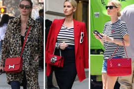 Just Can't Get Enough: Nicky Hilton Loves Her Red Handbags