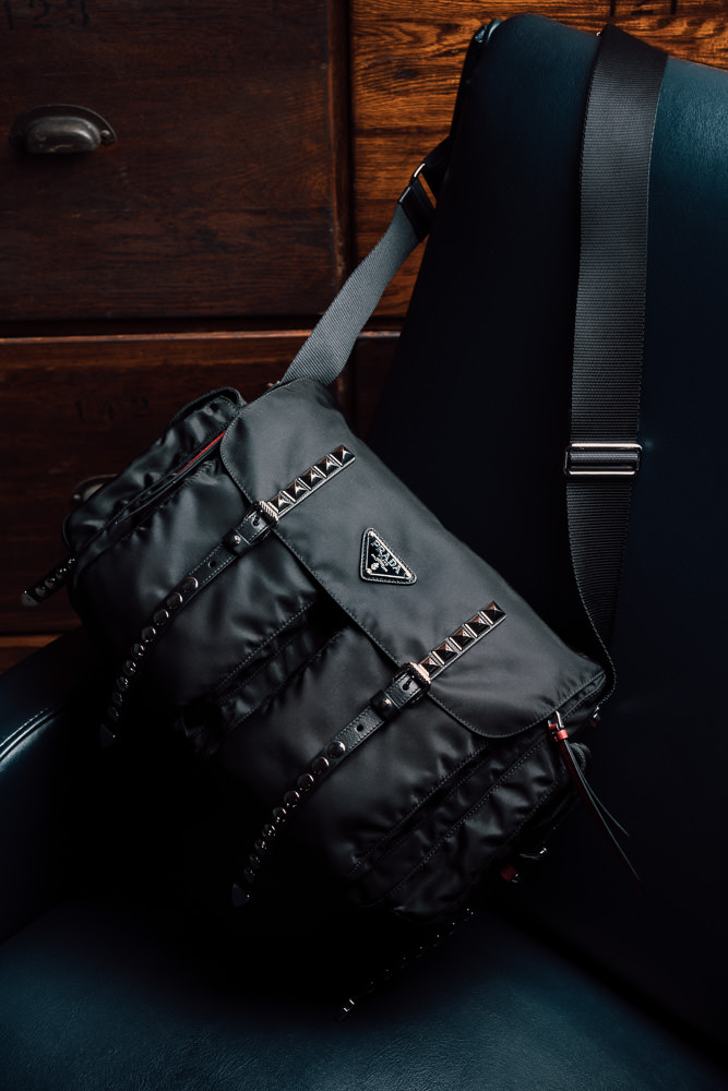 e3120076d387 From a messenger nearly identical to my first Prada bag, to a more compact shoulder  bag, to a classic backpack, here are the Prada Black Nylon Bags and ...