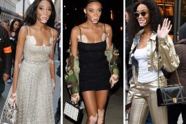 Model Winnie Harlow Flits From Fashion Week to Fashion Week with Bags From Dior, MCM and More