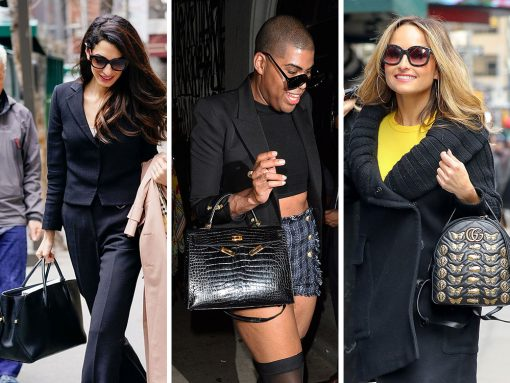 This Week, Celebs Hustled Around Town with Bags from Dior, Mulberry and JW Anderson
