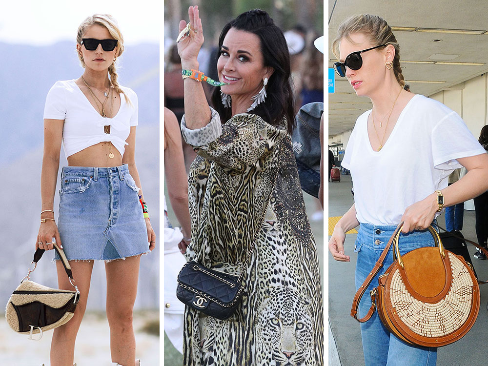 5ef068be25f Celebs Invade Coachella with Bags from Dior, Louis Vuitton and Chanel