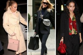 Balenciaga and Saint Laurent Dominate Celeb Bag Tastes So Far This Week