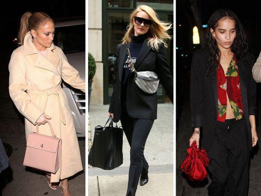 Balenciaga and Saint Laurent Dominate Celeb Bag Tastes So Far This Week