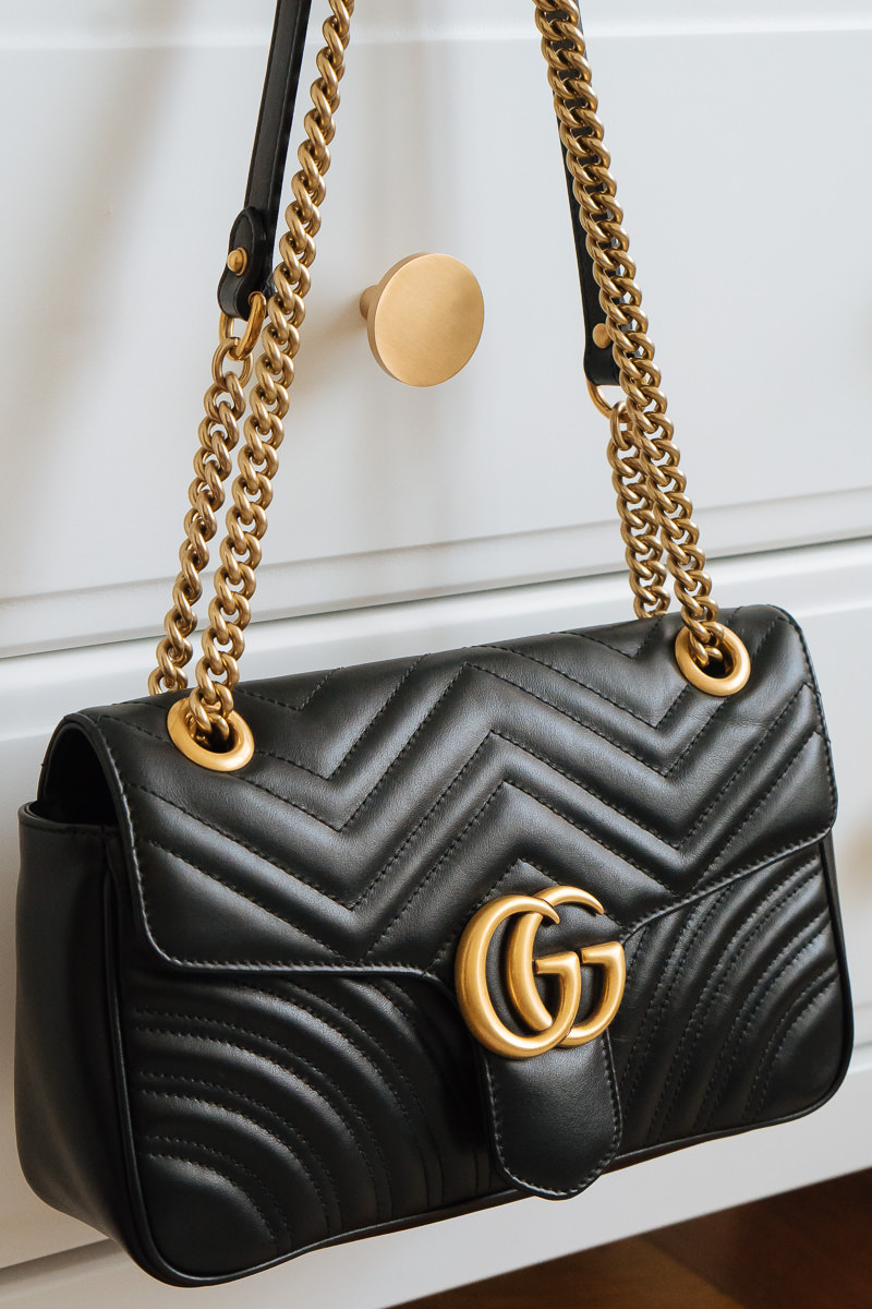 f6b263c5c8b5 From that moment on, I've been obsessed with my Gucci GG Marmont Matelassé  Shoulder Bag.