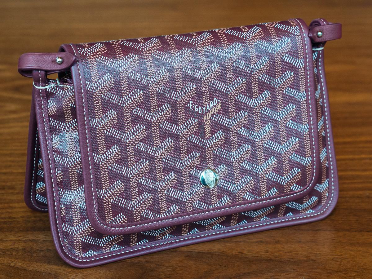 A Detailed Look at the Goyard Plumet Bag 83432c9107fd6