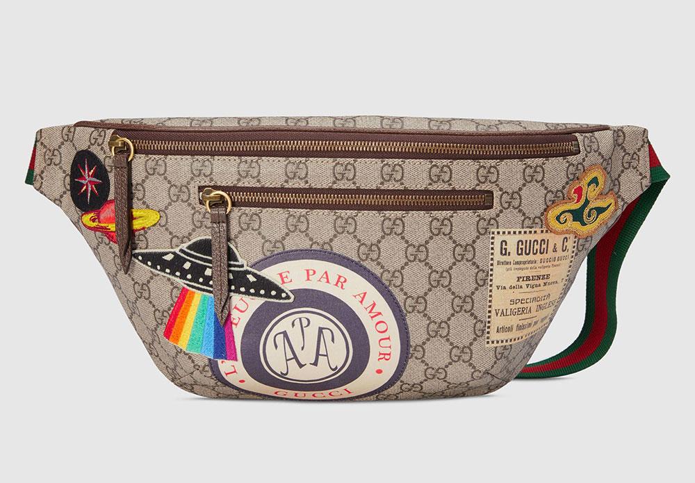 52841a8d5419 Gucci Courrier GG Supreme Belt Bag