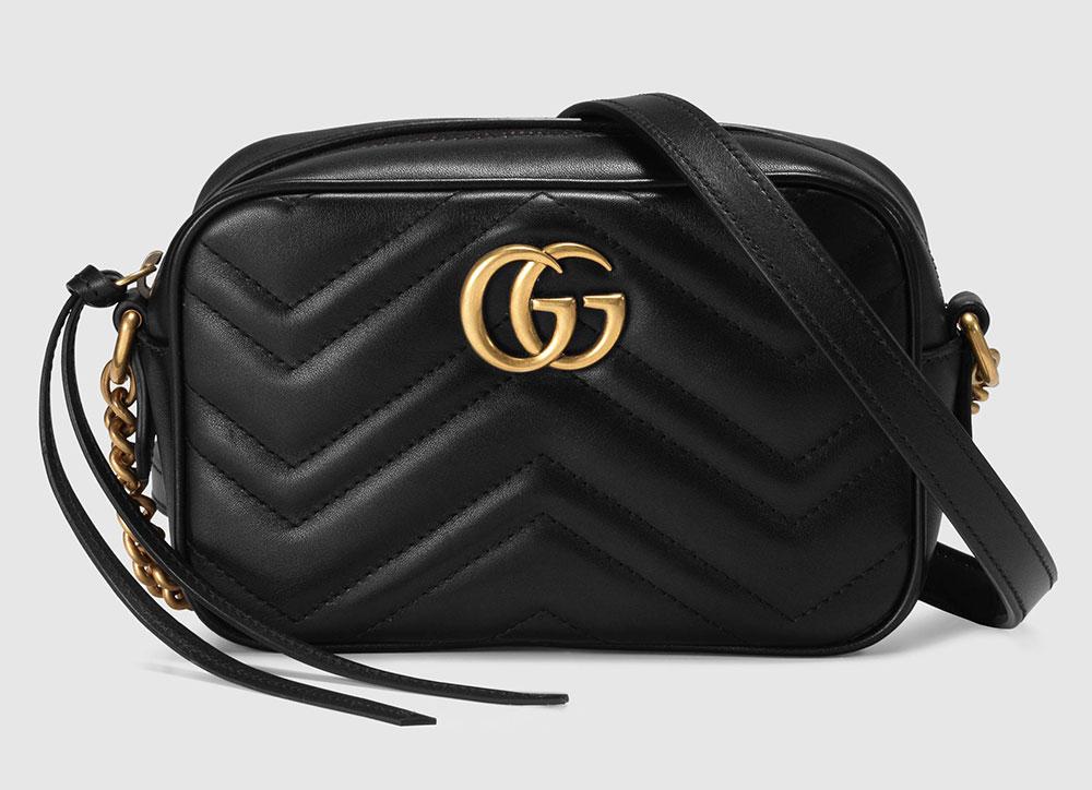 3a15319f4aad87 Gucci Marmont Camera Bag, Mini Previous Price $980, Current Price $980: No  Increase