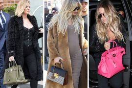 Khloé Kardashian Just Had a Baby; Here are Some Pics of Her Handbags